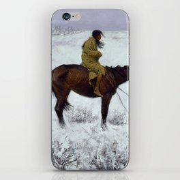 "Frederic Remington Western Art ""The Herd Boy"" iPhone Skin"