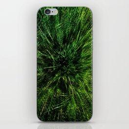 zieleń iPhone Skin