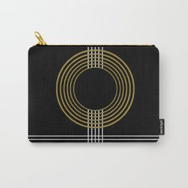 GUITAR IN ABSTRACT (geometric art deco) Carry-All Pouch