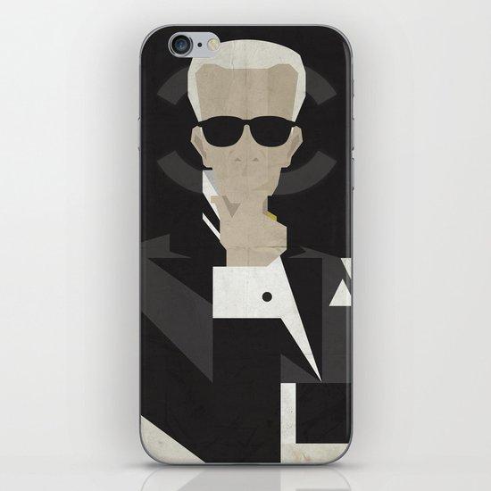 Karl iPhone & iPod Skin