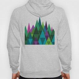 Jewel Toned Mountain Range Hoody