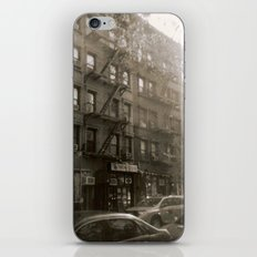 New York Street with Holga iPhone & iPod Skin