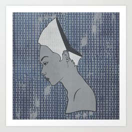 Can't Get No Retrospection (White) Art Print