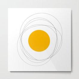 Doodle egg Metal Print
