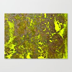 Yellow Rust Canvas Print