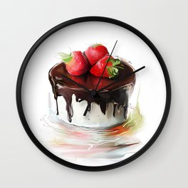 cake1 Wall Clock