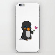 Penguin Love iPhone & iPod Skin