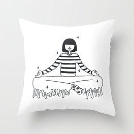 Cosmic Throw Pillow