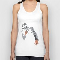 gangster Tank Tops featuring The Gangster by Dulevartiano