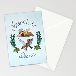 French to Death Stationery Cards
