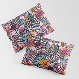 Flamingos - by Kara Peters Pillow Sham