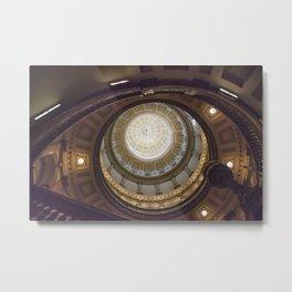 Capitol Dome Metal Print