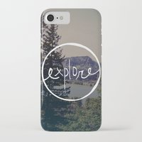 oregon iPhone & iPod Cases featuring Explore Oregon by Leah Flores