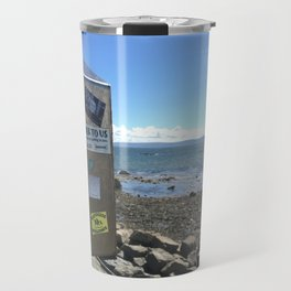Refugees Welcome in Galway Travel Mug