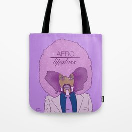The fluffiest 'fro in town Tote Bag