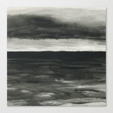 Dark sea Canvas Print