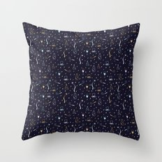 New Years Traditions Throw Pillow