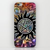 supernatural iPhone & iPod Skins featuring Supernatural by Spooky Dooky