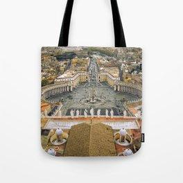 Piazza San Pietro, Vatican Tote Bag
