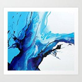 Abstract Art Britto - QB299B Art Print