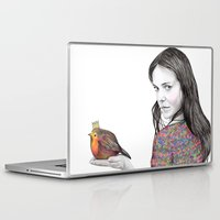 birdy Laptop & iPad Skins featuring Birdy by label tania