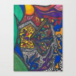 Mushroom Trip Canvas Print