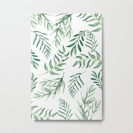 Floating Leaves #society6 #buyart Metal Print
