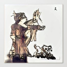 Los Caprichos ~ 2 ~ They Say Yes Canvas Print