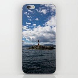 Lighthouse_Ushuaia #2 iPhone Skin