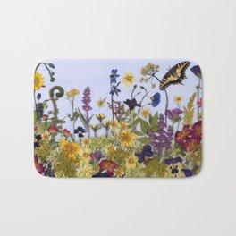 Butterfly Garden Bath Mat