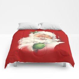 Vintage Santa Comforters