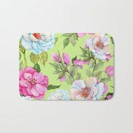 Vintage Floral Pattern No. 2 Bath Mat