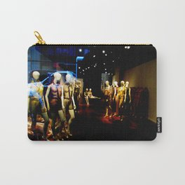 """Mannequin Meeting"" Carry-All Pouch"