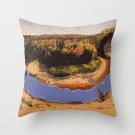 Arrowhead Provincial Park Throw Pillow