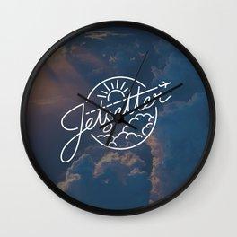 Jetsetter Sky Wall Clock