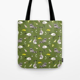 Trash pals from other locales Tote Bag