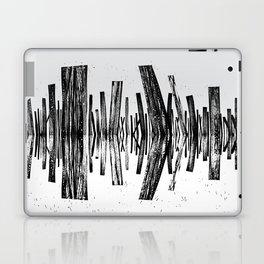 minimal b.w. Laptop & iPad Skin