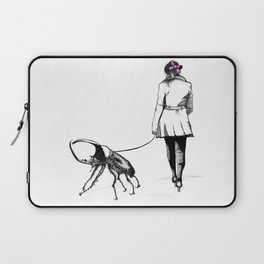 Pets ( and girl and her Beetle ) Laptop Sleeve