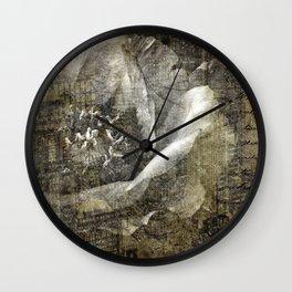 urban love Wall Clock