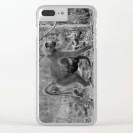 Hang in There, Baby Clear iPhone Case