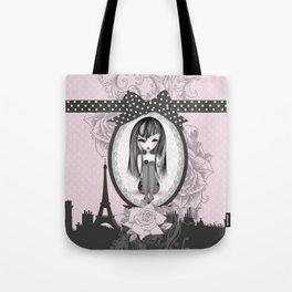 éMo Romantik Gothik 'Paris' Tote Bag