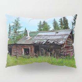 Alaskan Frontier Cabin Pillow Sham