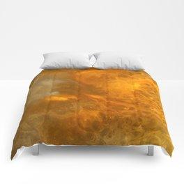 Aurora Borealis: Northern Lights Abstract Design Comforters