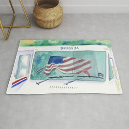 Mail Truck Rug