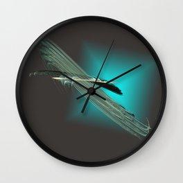 take a cosmic flight Wall Clock