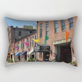 Fun Colorful Flags Rectangular Pillow