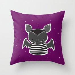 + BAT + Throw Pillow