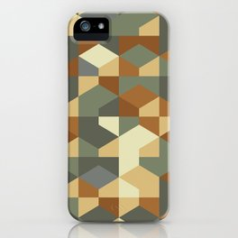 Abstract Geometric Artwork 51 iPhone Case