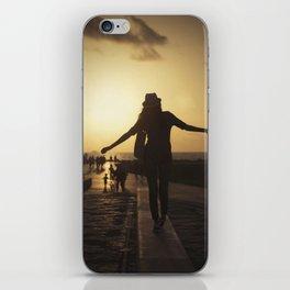 Sunset dance #2 iPhone Skin