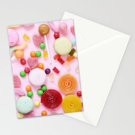 Candy Print Stationery Cards